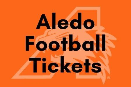 Aledo Football Tickers