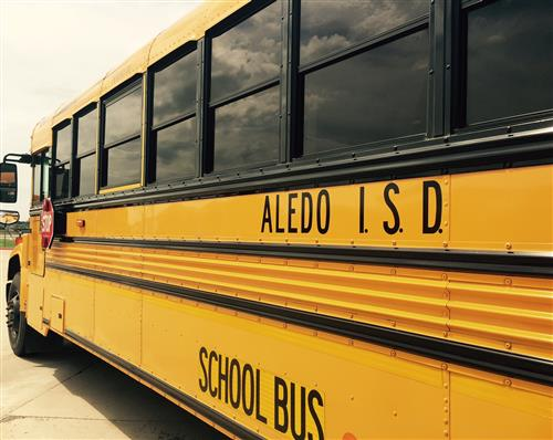 aledo isd school bus