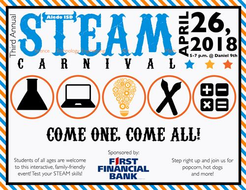 STEAM Carnival Coming April 26 to Daniel Ninth Grade Campus