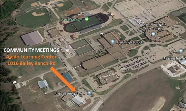 Community Meetings with Aledo ISD Architects