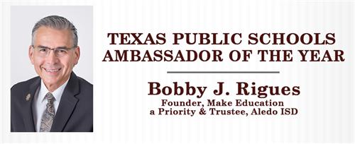 Friends of Texas Public Schools Honors Aledo ISD Trustee