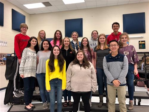 Aledo High School Choir Students Competing at State Level