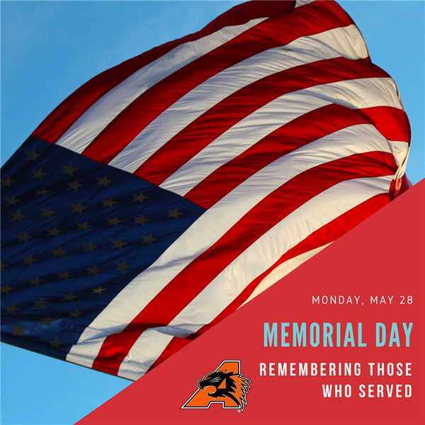 Memorial Day Holiday: No School Monday, May 28 in AISD