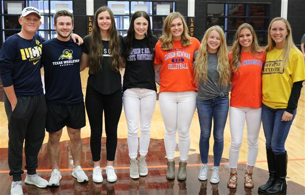 Fall Signing Day Features Eight Aledo Signees