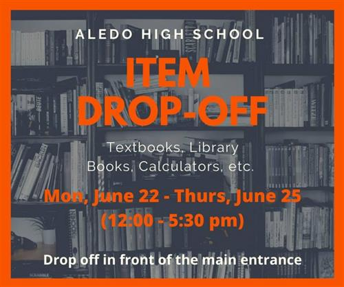 Returning Books and Items to AHS