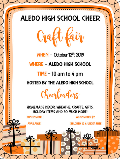 AHS Cheerleading Fall Craft Fair